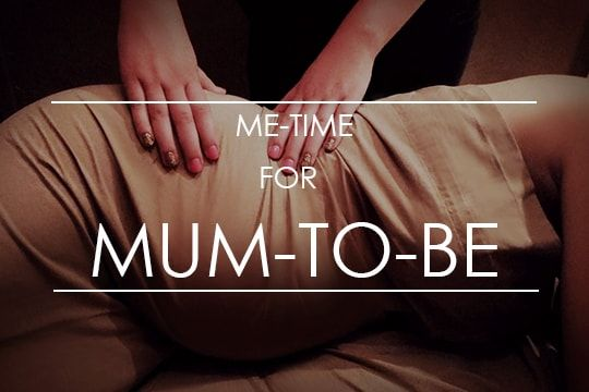 me-time for mum-to-be